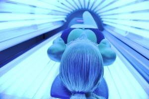beauty and spa solarium treatment